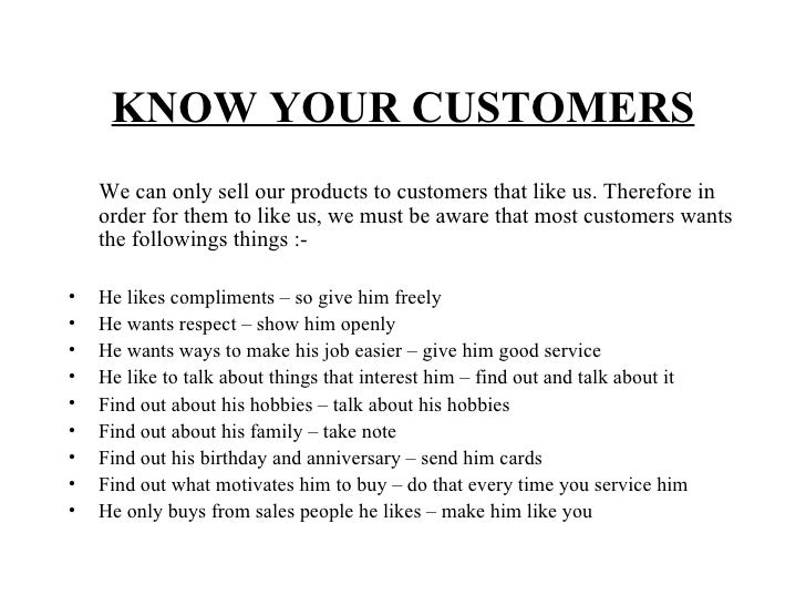 basic sales training