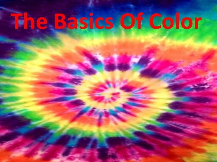 The Basics Of Color