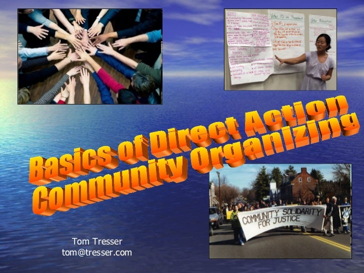 Basics of Direct Action Organizing