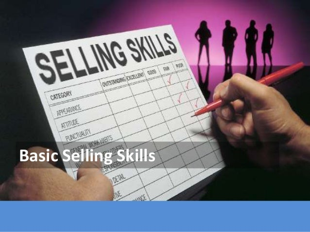 Basic Selling Skills