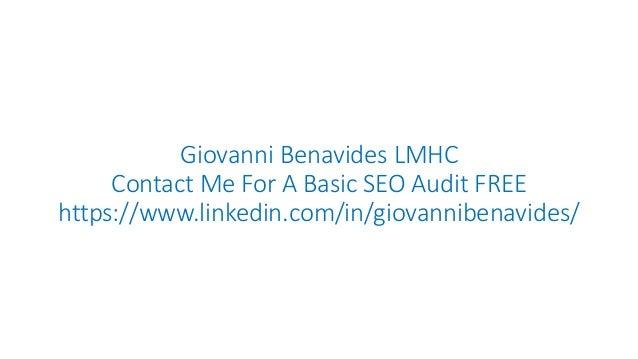 Basic SEO Audit FREE
