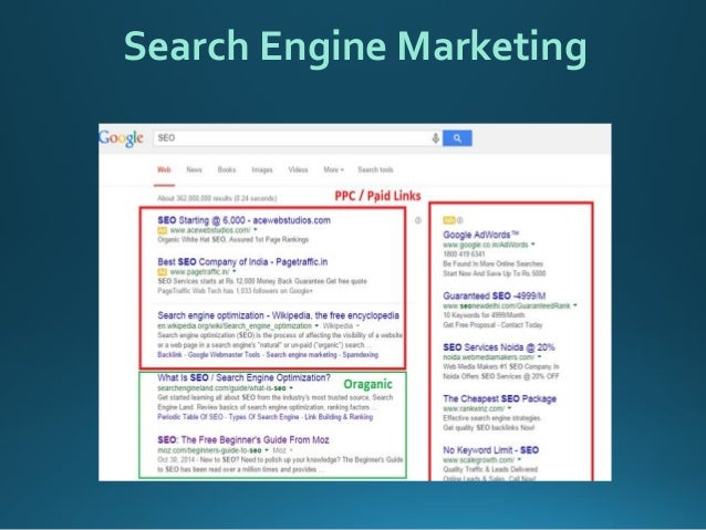Basic Search Engine Optimization techniques & tips slideshare - 웹