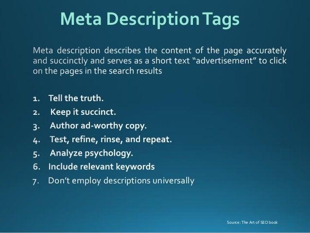 Basic Search Engine Optimization techniques & tips slideshare - 웹