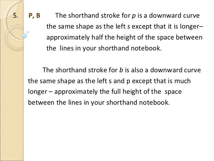 Basic Shorthand P 1 boa