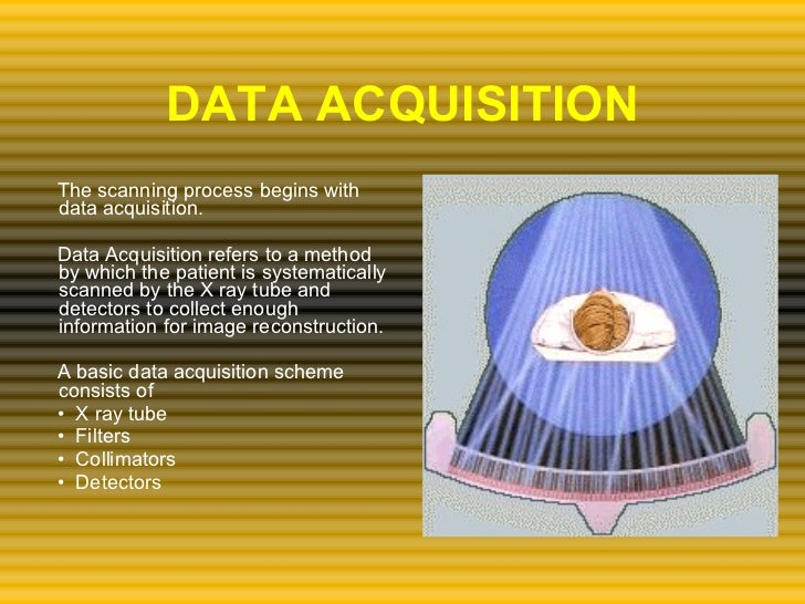 Ct Data Acquisition System : Basics in ct
