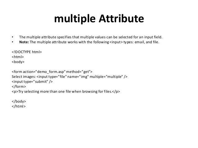 Basics of HTML5 for Phonegap