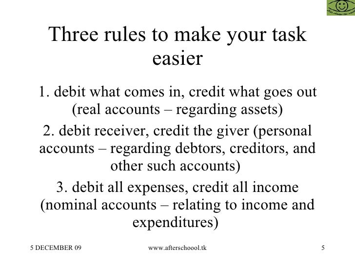 personal real and nominal accounts rules with examples pdf