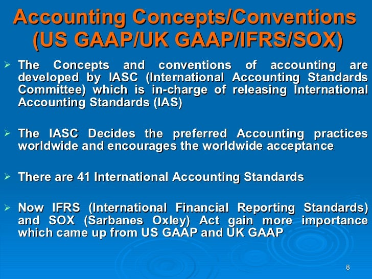 International Accounting Standards - IAS