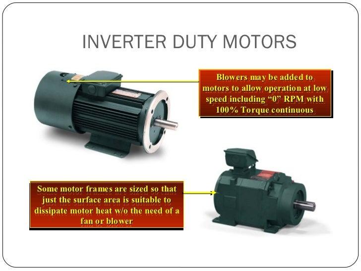 Basics of an ac drive - with motor basics