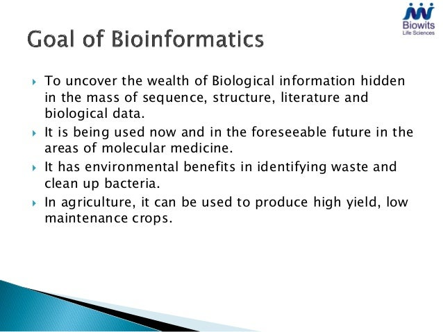    To uncover the wealth of Biological information hidden    in the mass of sequence, structure, literature and    biolog...