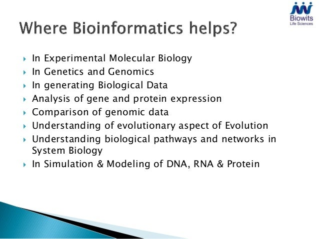   In Experimental Molecular Biology   In Genetics and Genomics   In generating Biological Data   Analysis of gene and...