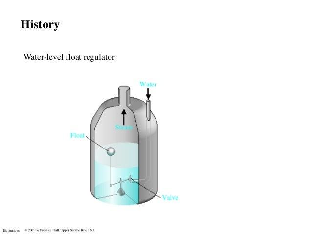 History                Water-level float regulatorIllustrations