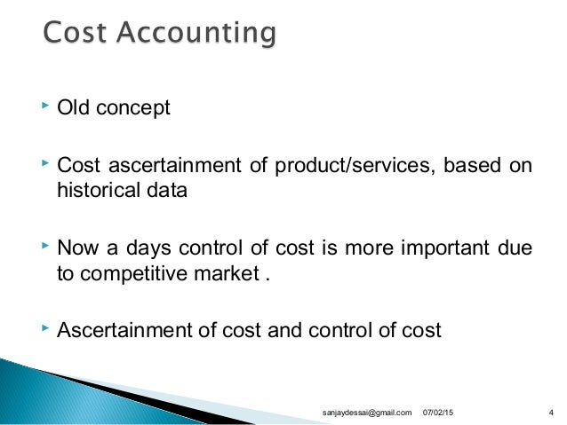 cost accounting application on the expansion Introduction to health care accounting and financial management  invest in expansion of services so there is  to bear the costs of their services health.