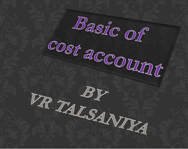 Noun Verb The amount of expenditure incurred & more. i.e. opportunity cost, notional cost To ascertain the cost of given t...