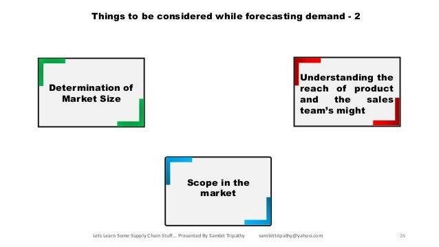 Basics of demand management for idiots
