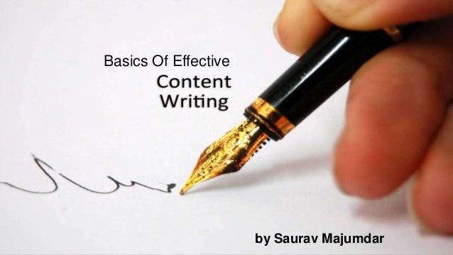 Basics Of Effective by Saurav Majumdar