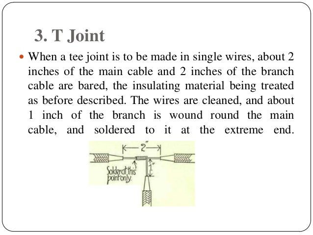 House Wiring Joints - Lir Wiring 101 on