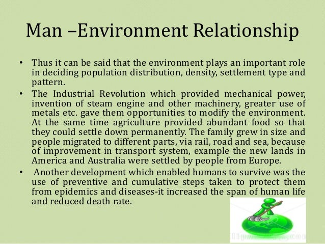 relationship of man and environment
