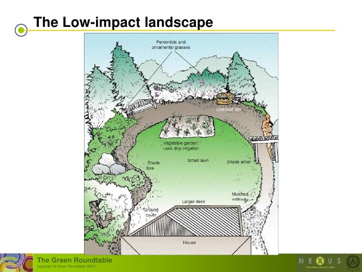The Low-impact landscape     The Green Roundtable (copyright © Green Roundtable 2007)