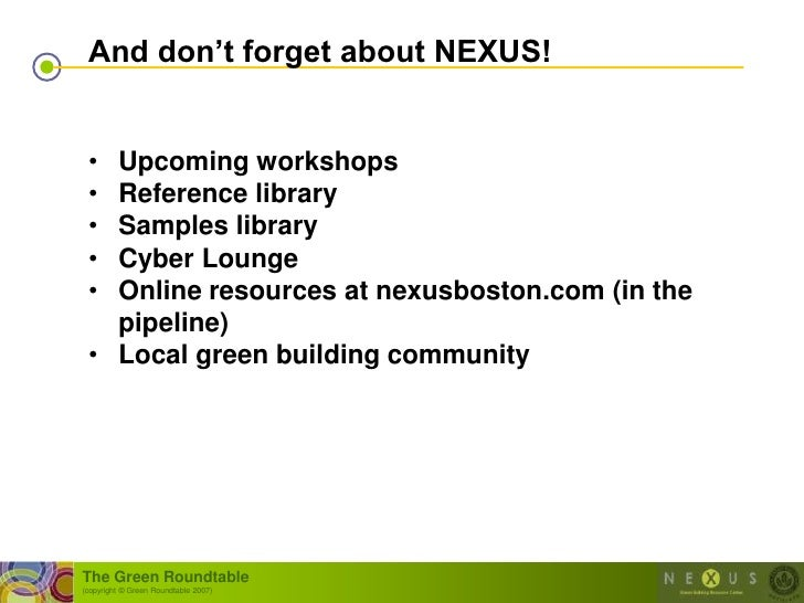 """And don""""t forget about NEXUS!    • Upcoming workshops  • Reference library  • Samples library  • Cyber Lounge  • Online re..."""