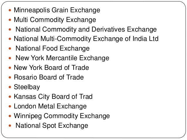 Commodity trading online 2008