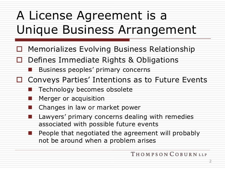 Basics Of Licensing IP