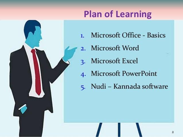 Basics-of-microsoft-office-and-nudi-presentation-at-ATI-Mysore-by-Moh…