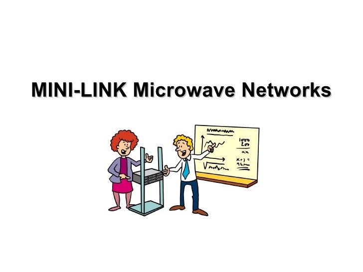 MINI-LINK Microwave Networks