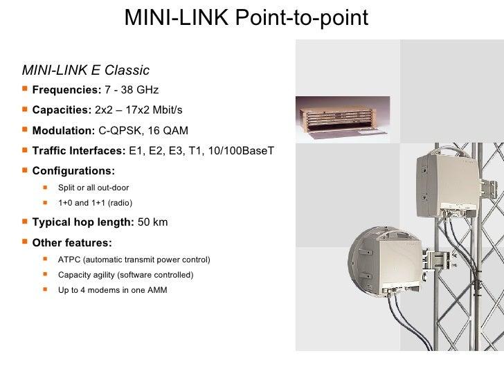 basics of minilink microwave networks rh slideshare net Microtek MINI-LINK MINI-LINK E Amm2u-3
