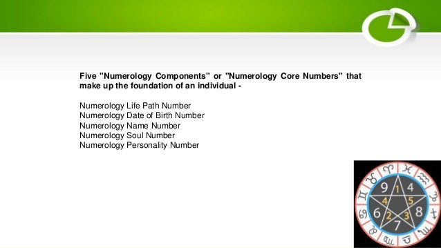 Basics of numerology components or numerology core numbers?