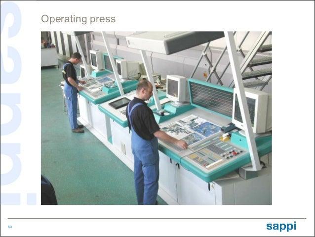 Operating press     Driving the press50