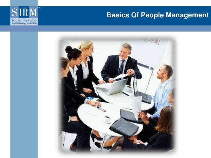 Basics Of People Management