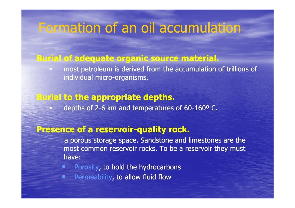 What is a G and G study in petroleum geology - answers.com