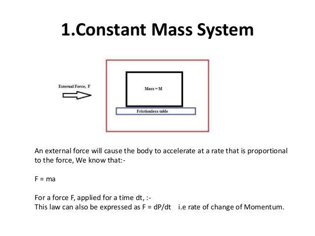 Basics Of Rocket Propulsion Part 2 The Thrust Equation