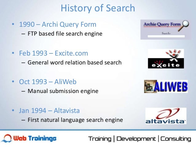 Basics of Search Engines and Algorithms
