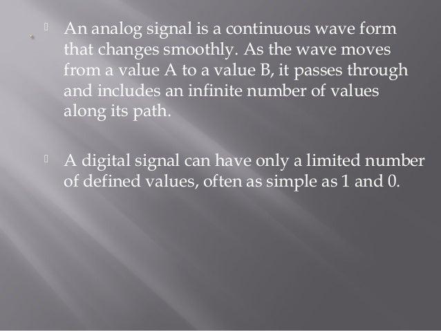 Basics Of Signals Data Communication
