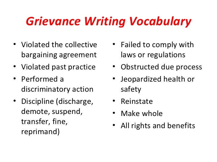 grievance procedure essay Grievance procedure essay introduction this document forms a template for organisations to compose a policy for grievance the working is largely standard but there is the opportunity for organisations to personalise the policy this document is divided into three columns 1.