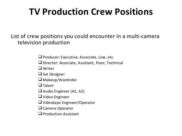 meet av production checklist