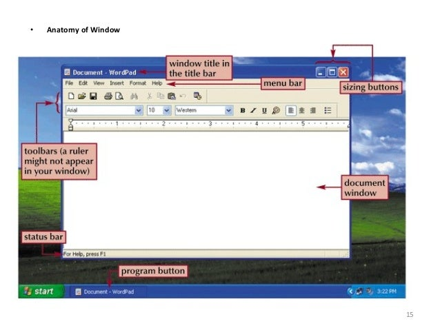 Basics Of Windows Xp