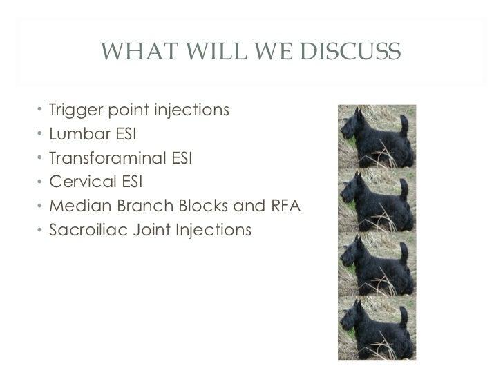 Basic spine injections Slide 3