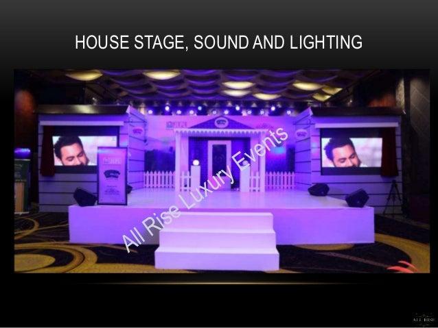 lighting set. house stage sound and lighting lighting set a