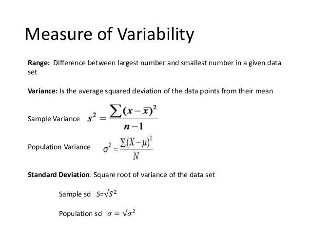 Basic Statistics 1