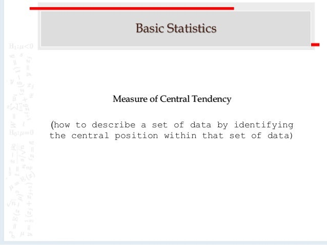 basic statistics Learn basic statistical functions including count, counta, average, max, min, median and mode.