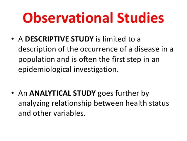 Epidemiological Studies - made easy! - YouTube
