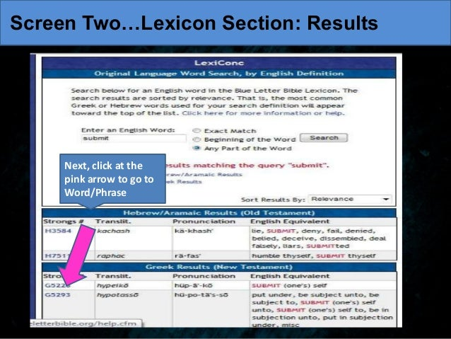 lexicon section resultsscreen two lexicon section results 10