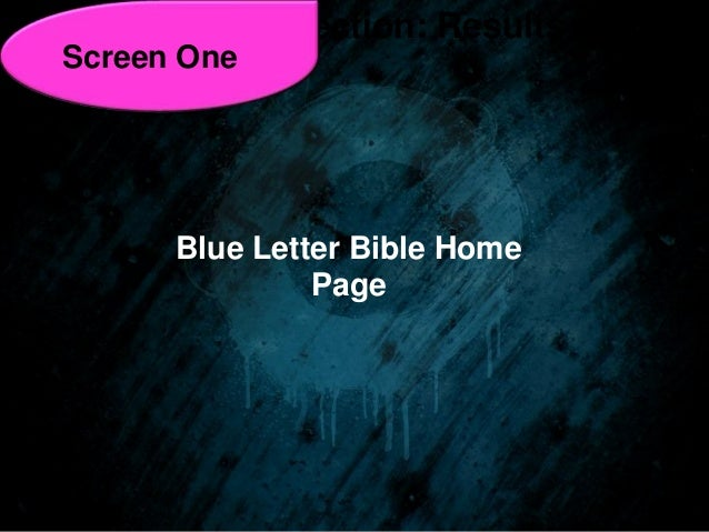 blue letter bible home page basic word study tools pt 1 blue letter bible from all 20653 | basic word study tools pt 1 blue letter bible from all nations leadership institute 5 638