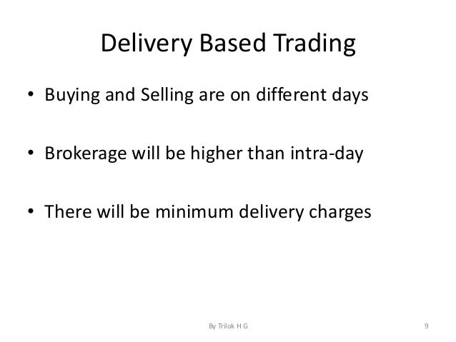 Basic of trading