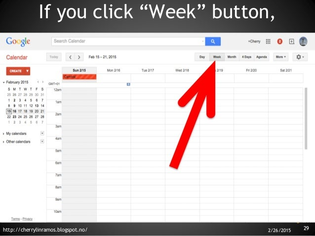 basic tutorial how to use google calendar