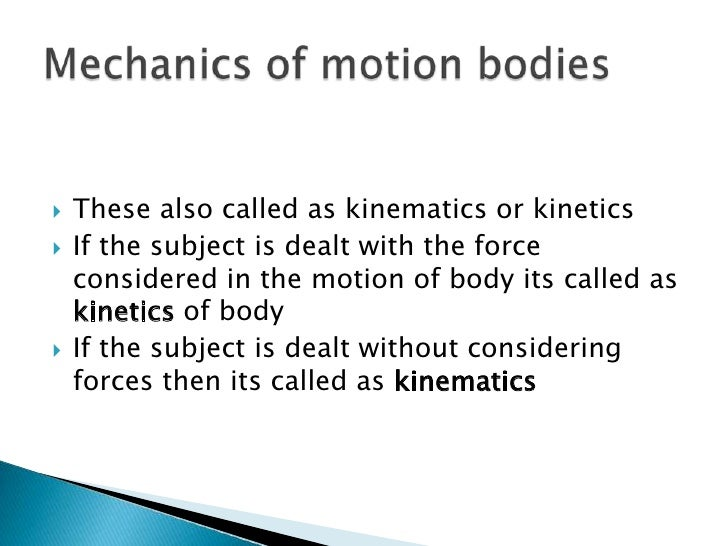 Basic Understanding Of Mechanics on Force Mx Acceleration