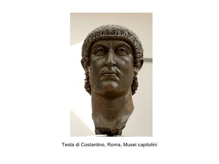 Testa di Costantino, Roma, Musei capitolini